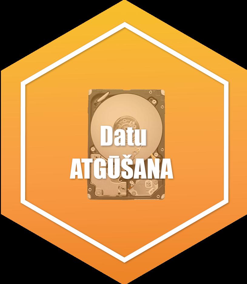 datu atgūšana