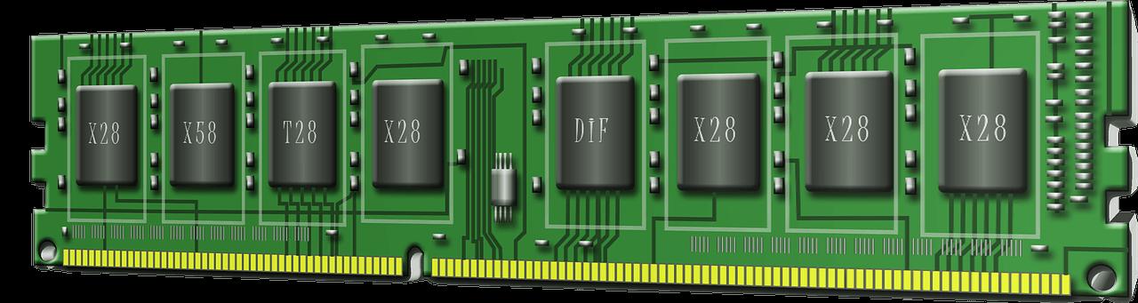 RAM operatīvās atmiņas remonts