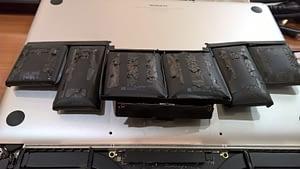 Uzpūties datora akumulators